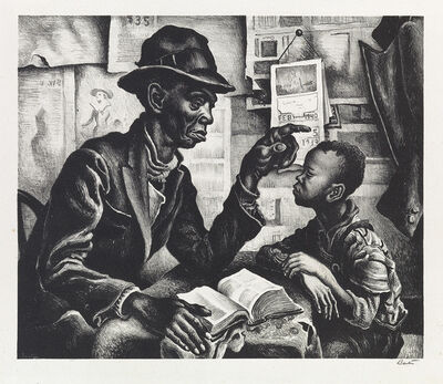 Thomas Hart Benton, 'Instruction', 1940