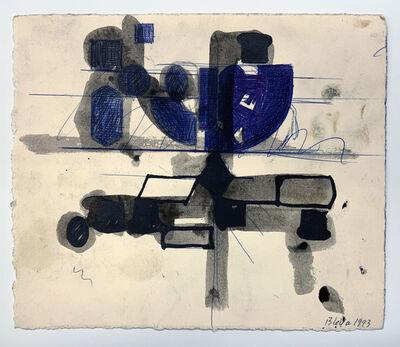 Barry Le Va, 'Untitled (study)', 1993