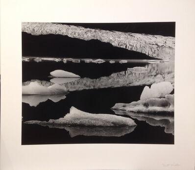Brett Weston, 'Mendenhall Glacier, Alaska', 1973-printed no later than 1976