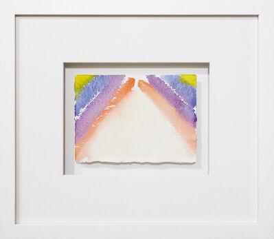 Günther Uecker, 'Licht-Feuer-Eis (Vatnajoküll)', 1985