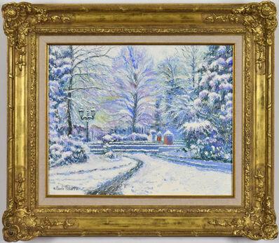 Hugues Claude Pissarro, 'Neige Chez Lionel à Bonneville-la-Louveé', 21st century