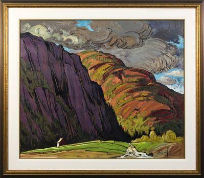 Bruno Cote, 'Grandes Bergeronnes - late 20th century expressionistic landscape', 1981