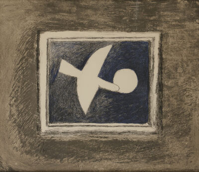 Georges Braque, 'Astre et oiseau II', 1958-1959