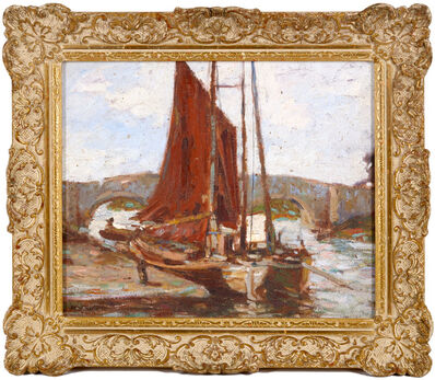 Ken Moroney, 'Sailboats'