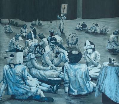 William Buchina, 'Scenery in Blue #1', 2018