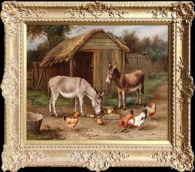 Edgar Hunt, 'Farmyard Friends', 19th Century