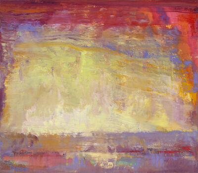 """Ira Barkoff, '""""Sun Color"""" -- Romantic, American Monet, Landscape, Abstract, Outdoor', 2020"""