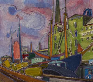 Martin Bloch, 'Svendborg Harbour, Denmark', 1934
