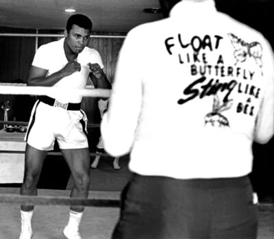 Harry Benson, 'Ali Float Like a Butterfly, Miami', 1964
