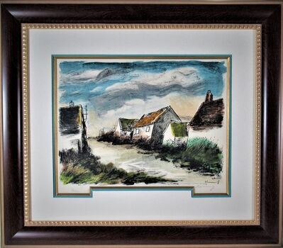 Maurice de Vlaminck, 'Montigny sur Havre', 1956