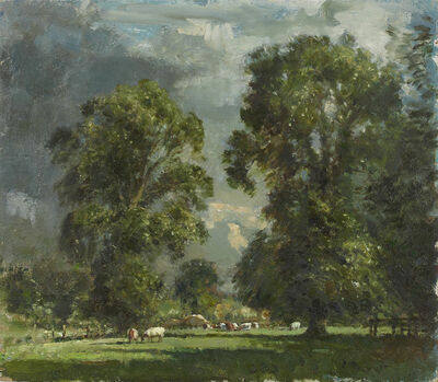 Edward Seago, 'Elm Trees - Sunshine After Storm', Early 20th century