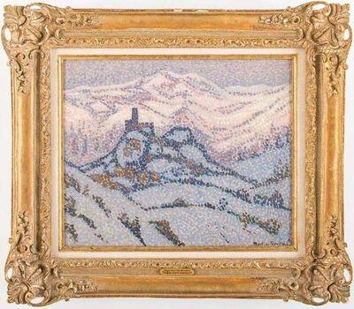 Jac Martin-Ferrieres, 'Neiges dans les Abruzzes', 1921