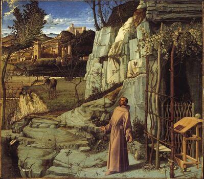 Giovanni Bellini, 'Saint Francis in Ecstasy', ca. 1470s