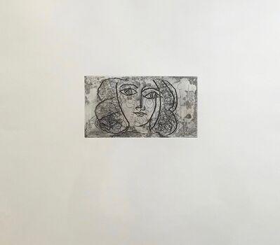 Pablo Picasso, 'Tete de femme de face'