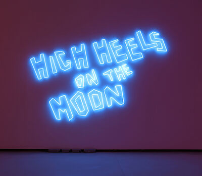 Sylvie Fleury, 'High Heels On The Moon (First Spaceship Venus 20)', 2005
