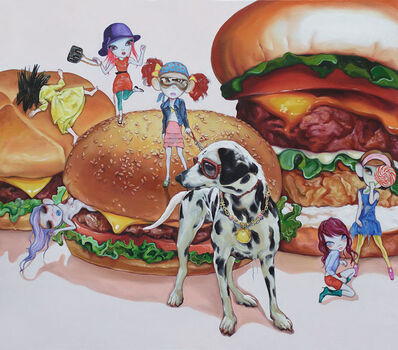Zheng Lingxin, 'My Happy Baby -Hamburger', 2007