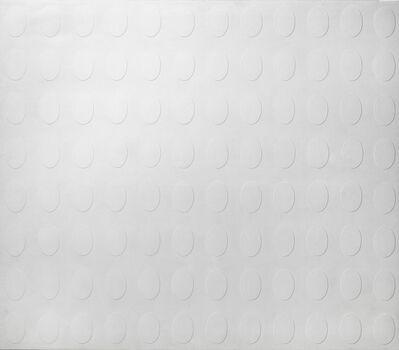 Turi Simeti, '96 ovali bianchi', 1965