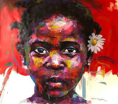 Solomon Omogboye, 'Girl with Flower', 2021