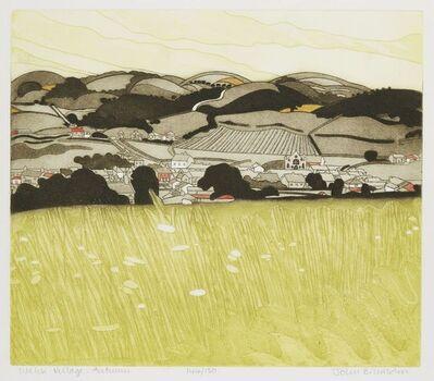 John Brunsdon, 'Welsh Village: Autumn'