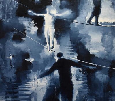 Gary Ruddell, 'Men on a Wire', 2013