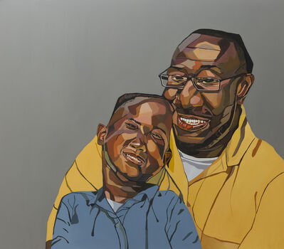 Joy Labinjo, 'Father and son', 2020