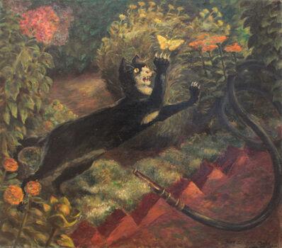 John Steuart Curry, 'Cat & Butterfly', 1935