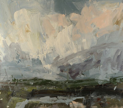 Louise Balaam, 'Whalebone Marshes from Northward Hill'