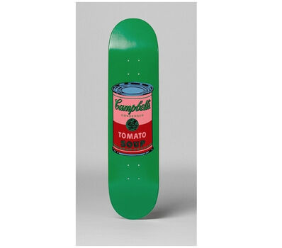 Andy Warhol, 'Campbells Soup Skate Deck (Blood)', 2016