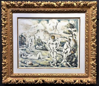 Paul Cézanne, 'Les Baigneurs (grande planche) ( The Bathers, large plate).', ca. 1896-98