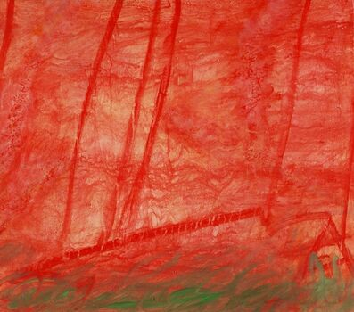 Claude Carone, 'Red and Green Composition', 2016