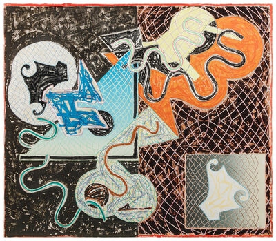 Frank Stella, 'Shards Variant IVa (from Shards series)', 1982