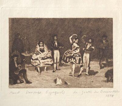 Édouard Manet, 'Danseurs Espagnols', 1878