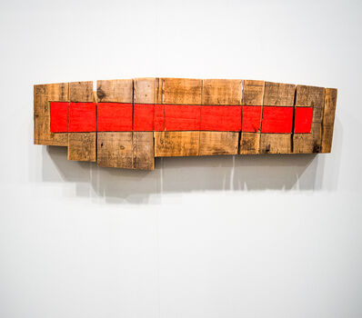 Richard Nonas, 'Wood wallpiece', 2005