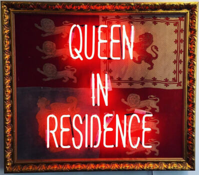 Illuminati Neon, 'Queen in Residence ', 2016