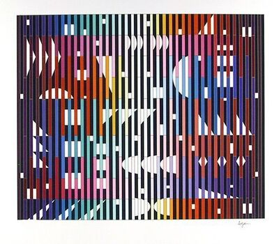 Yaacov Agam, 'Night rainbow', 1982