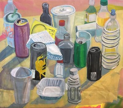 Ezra Johnson, 'Cups, Cans, Bottles, and Funyuns', 2018