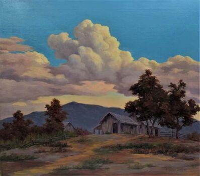 "Earl Graham Douglas, ' ""California Landscape with houses"" ', ca. 1930"