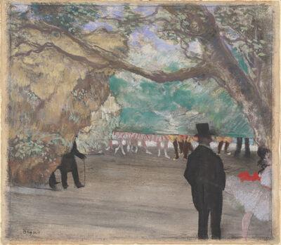 Edgar Degas, 'The Curtain', ca. 1880