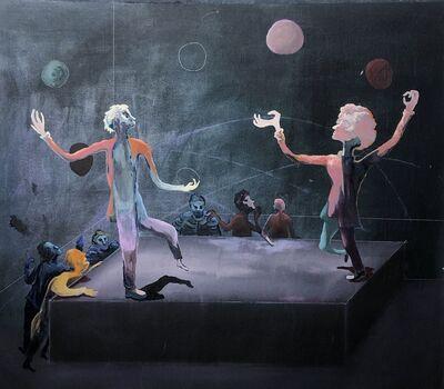 Pierre Knop, 'Fast balls fast hands', 2019