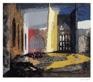 John Piper, 'Interior of Coventry Cathedral ', 2015
