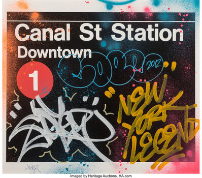 COPE2, 'Canal Street Station', 2012