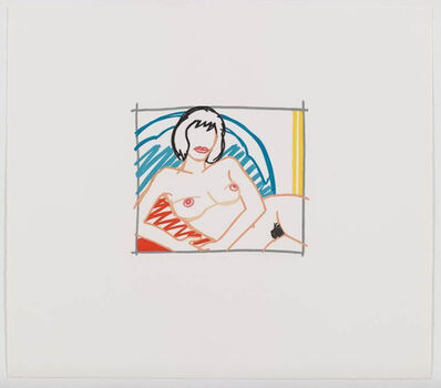 Tom Wesselmann, 'Monica Nude with Yellow Curtain', 1991