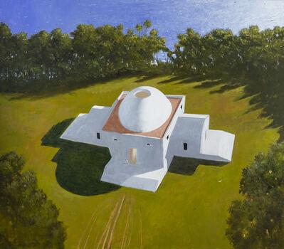 Julio Larraz, 'Villa Sirio, Home of Hesiod', ©2019