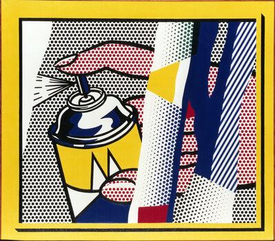 Roy Lichtenstein, 'Reflections: Spray II', 1988