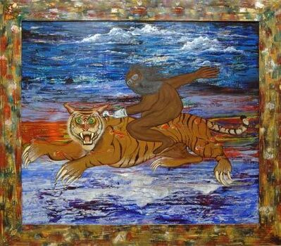 Bert L. Long, Jr, 'Riding the Tiger', 2000