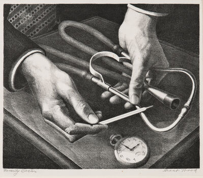 Grant Wood, 'Family Doctor', 1941