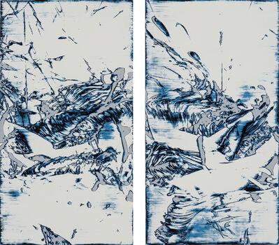 James Smeaton, 'Lagoon (diptych)', 2015