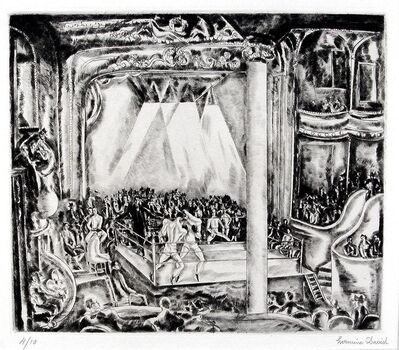 Hermine David, 'Boxing Match', ca. 1929