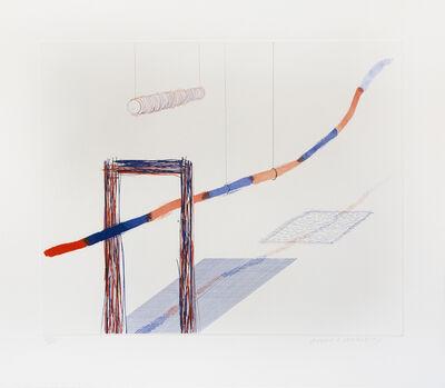 David Hockney, 'It Picks Its Way, from The Blue Guitar portfolio', 1977