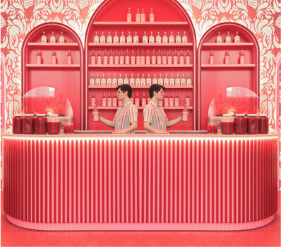 Maria Svarbova, 'Absolute Pink Bar', 2020
